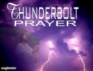 THUNDERBOLT PRAYER